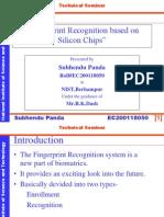 Finger Print Recognition