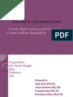 Grameen Job Analysis and Design