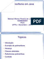 Polimorfismo Em Java