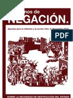Cuadernos de negación, nº 04, 2011 - Sobre la necesidad de destrucción del Estado