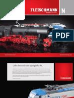 Fleischmann Katalog 2011 Spur N