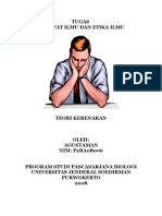 Tugas Mata Kuliah Filsafat Ilmu dan Etika Ilmu