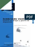 Drogas y Conflicto, nº 15, 2006 - Control de drogas y guerra en Afganistán