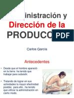 Administración y Dirección de la Producción