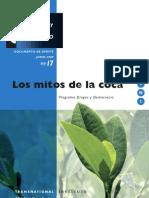 Drogas y Conflicto, nº 17, 2009 - Los mitos de la coca