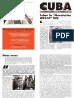 Cuba Libertaria, nº 03, diciembre 2004 - Sobre la revolución cubana hoy