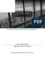 Madison Street Capital Presentation