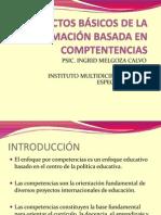 7.ASPECTOS BÁSICOS DE LA FORMACIÓN BASADA EN COMPTENTENCIAS