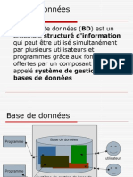 Introduction Base de Donnees