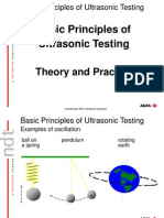 Basic Principles of Ultrasonic Testing.  Theory and Practice.