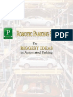 Robotic Parking Brochure Spanish
