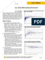 Policy Brief - Does Money Buy Elections