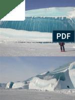 Frozen Tidal Wave in Antarctic A