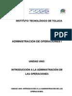 Apuntes de Admon de Operac i 2010