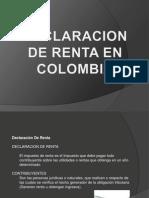 Declaracion de Renta en Colombia