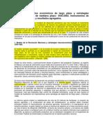 Mexico y Modelos Economico