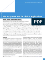 array CGH