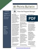 All Points Bulletin - Vol. 2, No. 3 (April 2011)