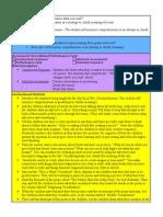 Observation Lesson Plan 2011 Blog