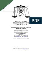 reglamento ipsc
