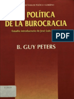 La Politica de La cia Guy Peters
