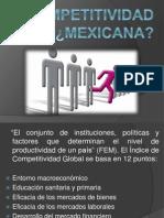 Competitividad en México