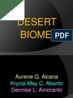 Desert and Tundra Biome
