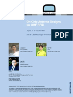 Auto-ID Labs - On-Chip Antenna Designs for UHF RFID