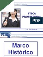 Charla de Etica Profesional