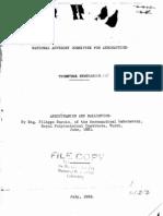 Aerodynamics and Ballistics