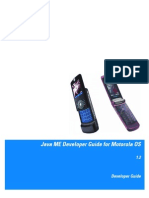Motorola OS Developer Guide