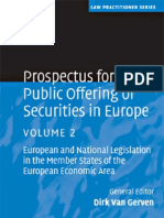 Prospectus for the Public Offering of Securities in Europe Vol2