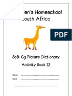 Soft g Dictionary Workbook - Donnette E Davis