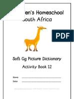 Soft g Dictionary Workbook - Donnette E Davis