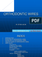 Orthodontic Wires