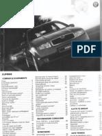 Manual Utilizare Fabia 2001