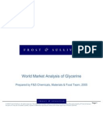 World Market Analysis of Glycerine