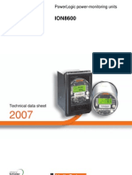 Power Logic ION 8600 Brochure 122006