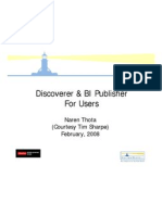Discoverer and Bi Publisher