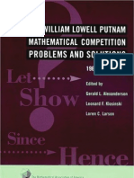 The William Lowell Putnam Mathematical Competition