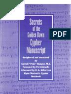 secrets of the golden dawn cypher manuscript pdf