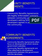 Community Benefits Agreements Corrected