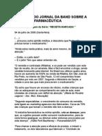 Receita Marcada 3 - Consumo Abusivo de Medicamentos - Marketing Agressivo Dos Laboratórios Farmacêuticos