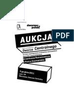 Aukcja na urodziny Dworca Centralnego - Katalog