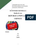 China in Economia Mondiala
