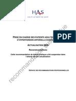 HTA_2005_-_recommandations