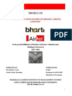 Marketing Strategies of Bharti Airtel Limited 2010