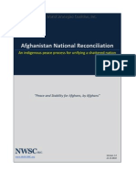 Afghanistan National Reconciliation