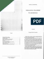Pedagogia Waldorf in Gradinita
