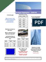 2008 Budget Highlights